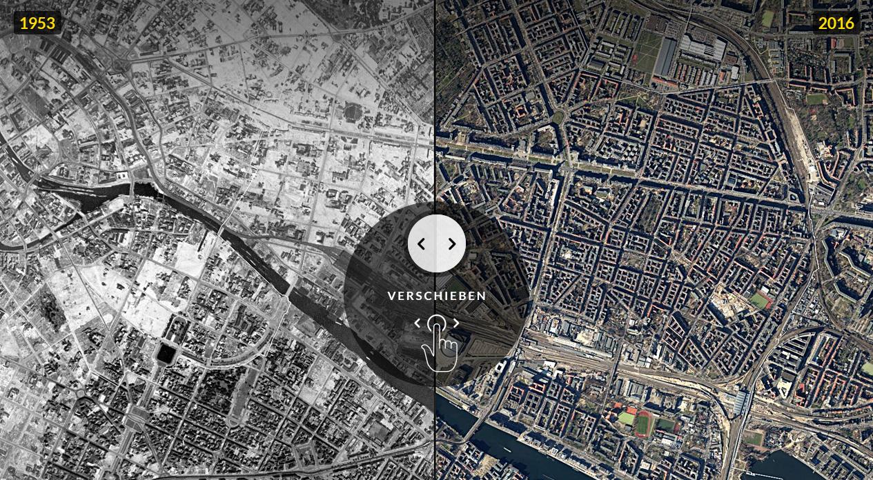 Karte Berlin Lichtenrade.Zeitreise Berlin 1953 Und Heute