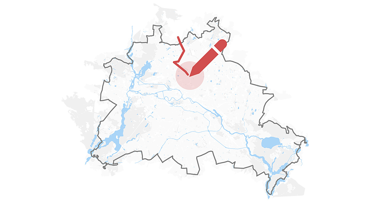 Zeichnen Sie Den Verlauf Der Berliner Mauer