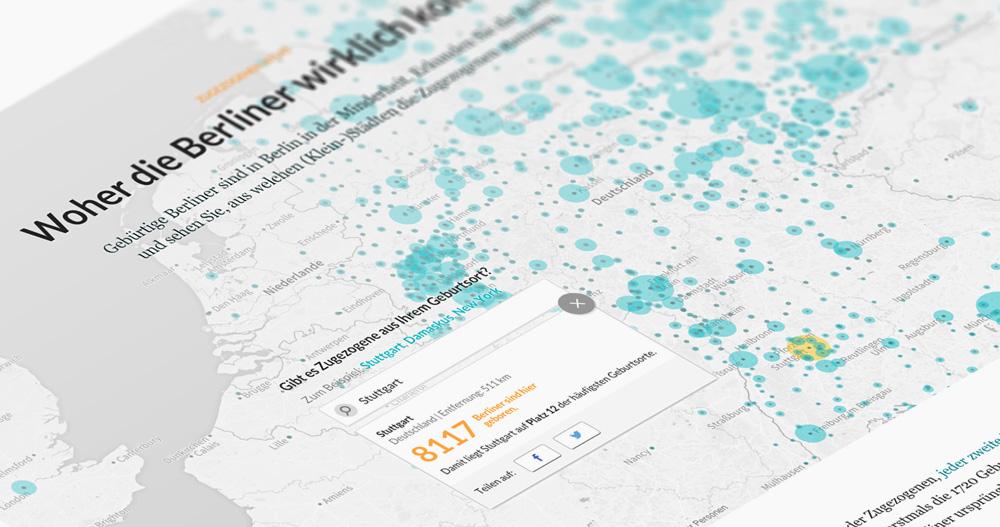 Zugezogenen-Atlas – Woher die Berliner wirklich kommen