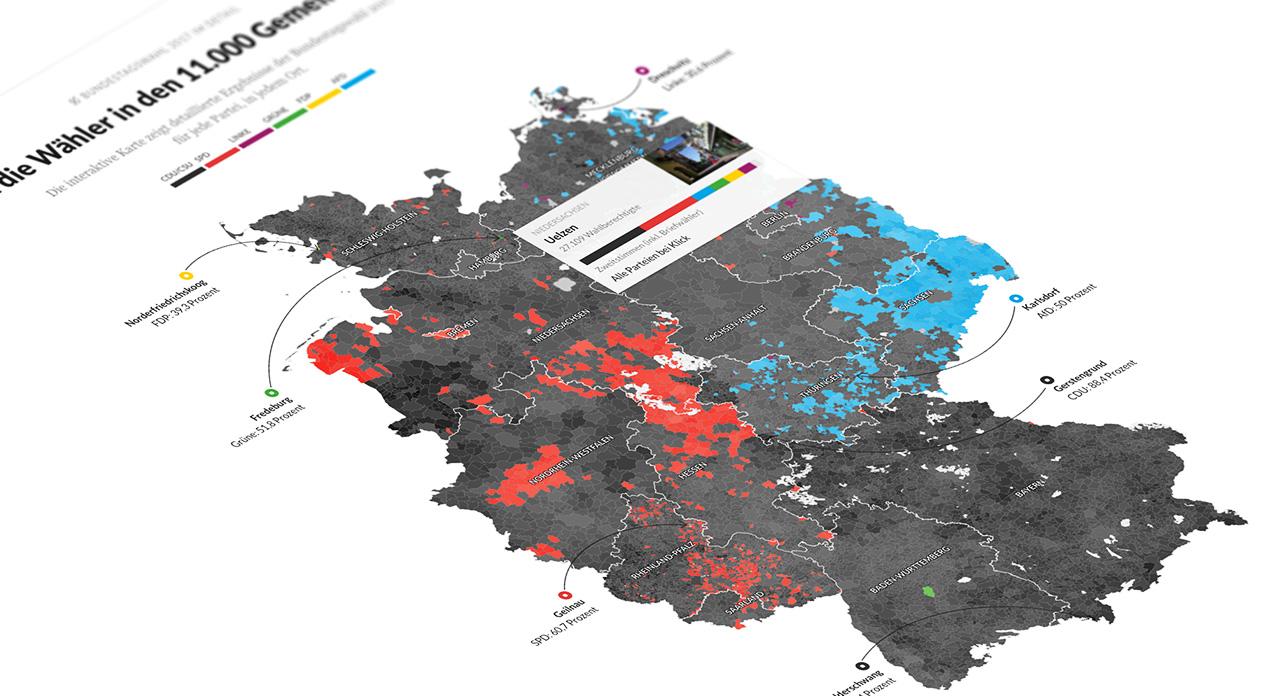 Bundestagswahl 2017 So Wurde In Den 11 000 Gemeinden Gestimmt