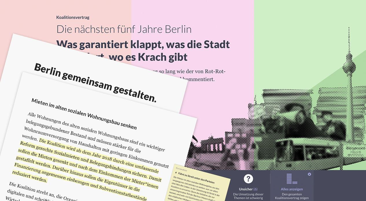 Die nächsten fünf Jahre Berlin – Was garantiert klappt, was die Stadt  verändert, wo es Krach gibt