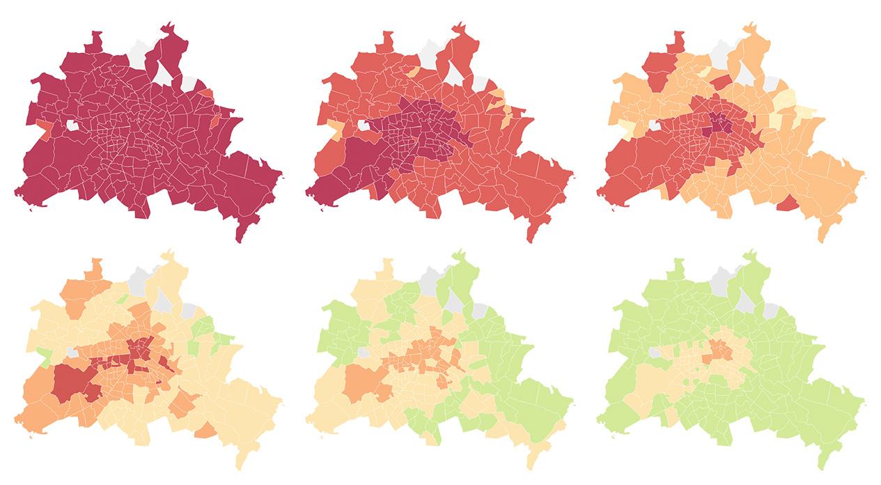 Mietkarte Berlin Welche Kieze Fur Sie Noch Bezahlbar Sind