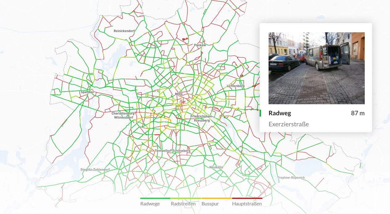 Berlin Fahrradwege